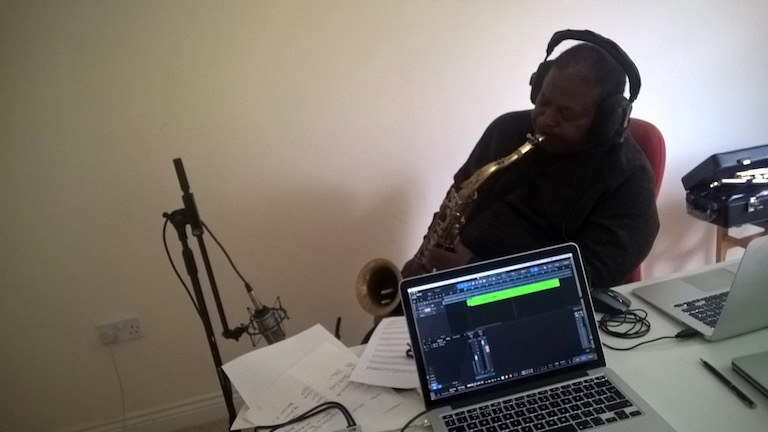 AJ Pact | Prism Fission | Saxophone session with Pee Wee Ellis